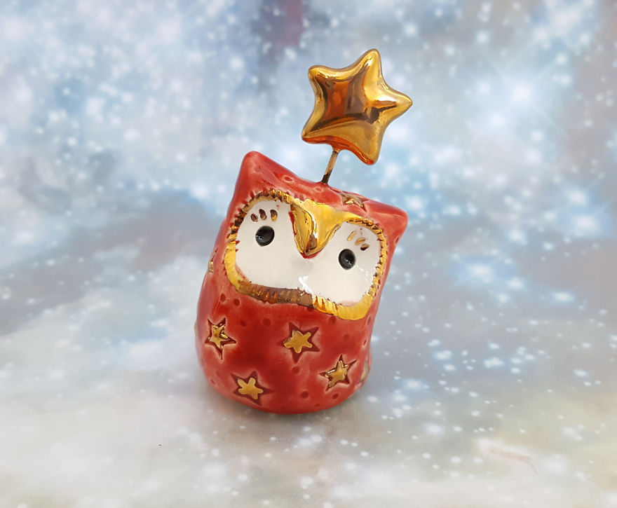 Red Fairy Owl