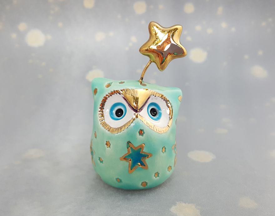 Minty Fairy Owl