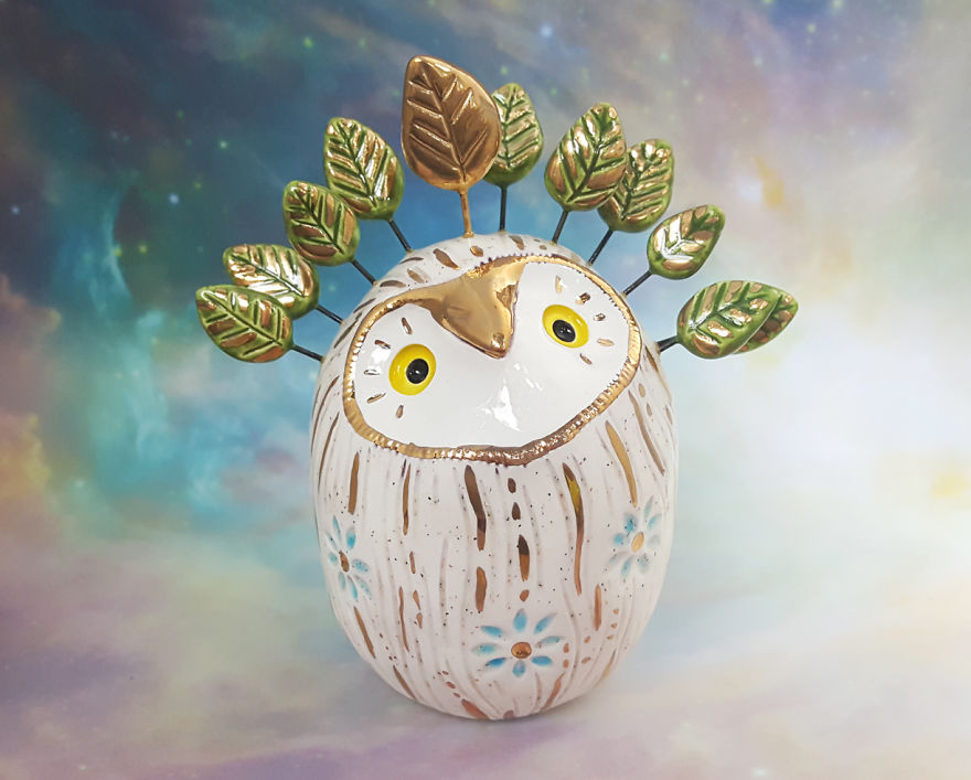 Woodland Fairy Owl