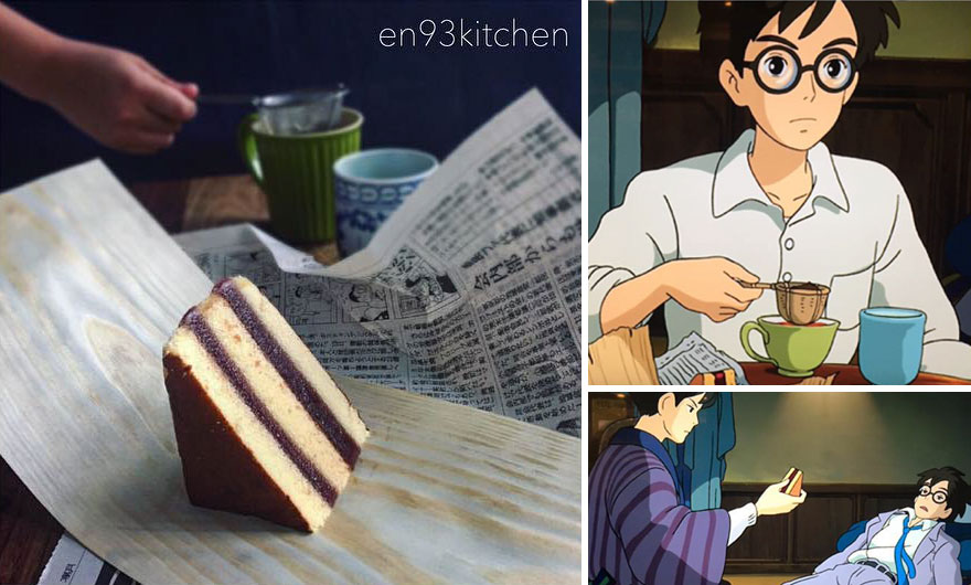 Tea And Cake From The Wind Rises