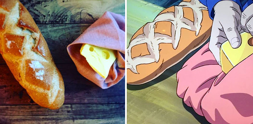 Bread And Cheese From Howl's Moving Castle