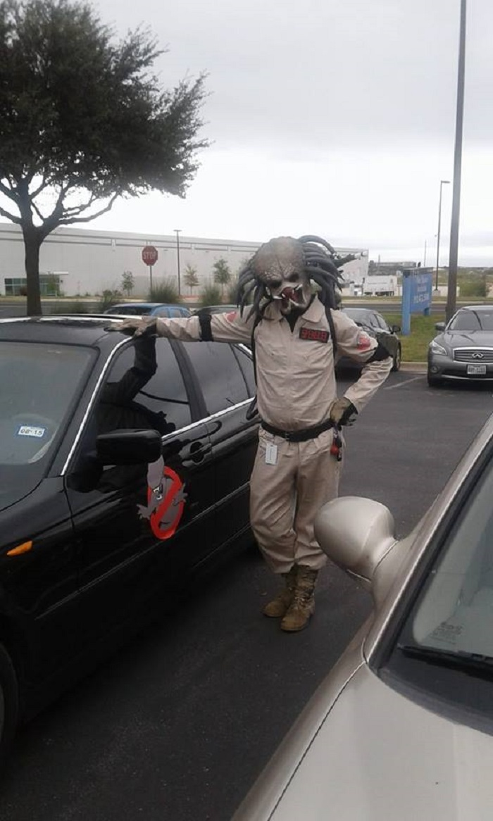 I Was Bill, The Yautja Ghostbuster This Year.
