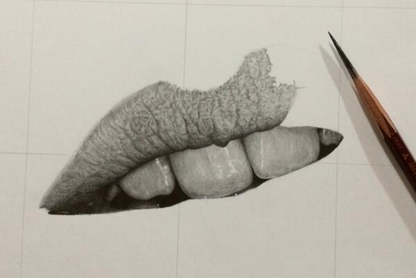 Carefully placed shades highlights and thin strokes of a pencil can produce seriously amazing effects