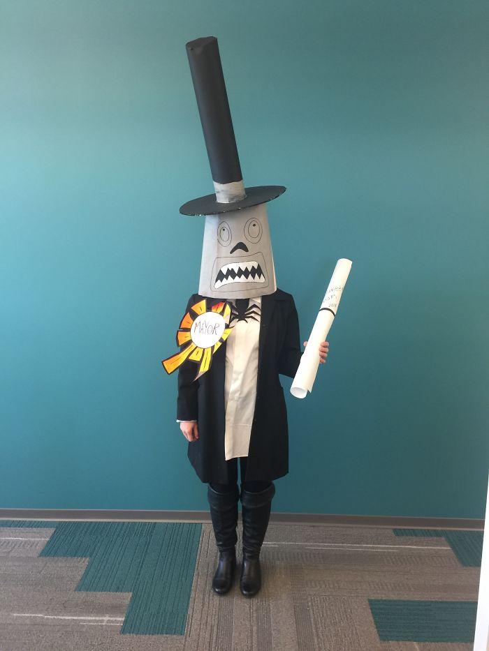 The Mayor Of Halloweentown Nightmare Before Christmas