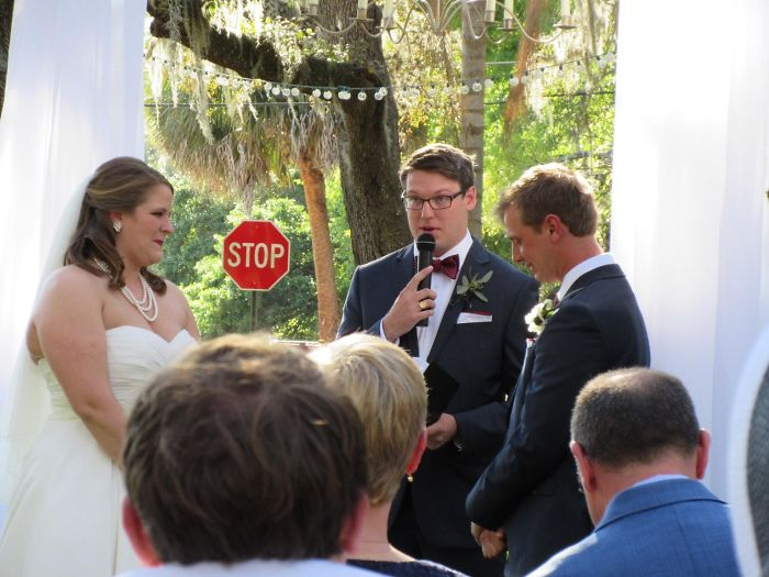 I Just Got Married Yesterday. Didn't See The Universe's Stop Sign