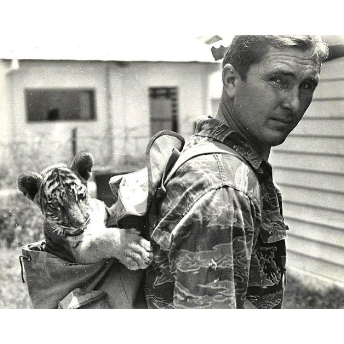 Ojalá Pudiera Ser La Mitad De Genial Que Mi Abuelo Este Día De Los Caídos, Hacia 1960