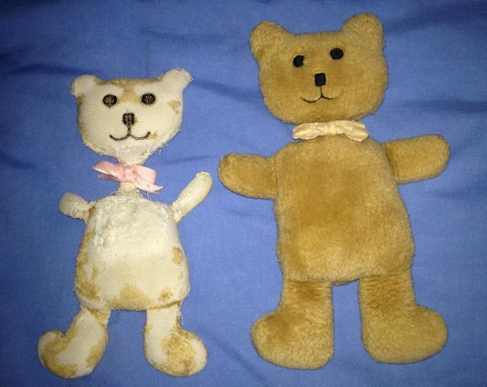 A Tale Of 2 Teddies - My Sister And I Both Got Them At The Same Time, ~18 Years Ago