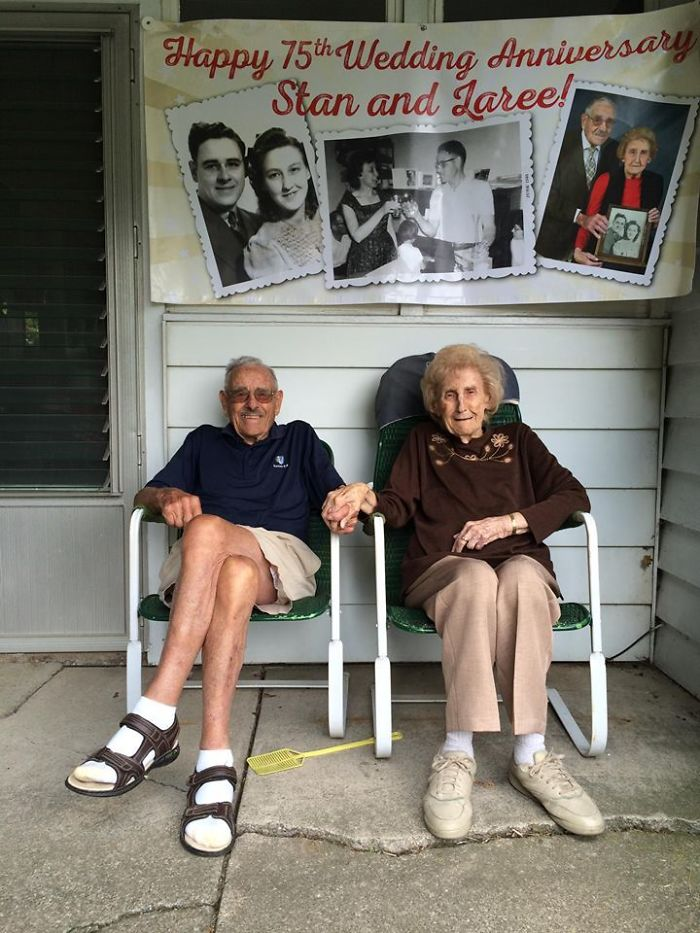 My Grandparents Just Celebrated Their 75th Wedding Anniversary