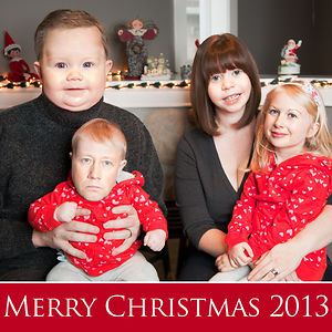 Wife Wanted A Family Portrait For Christmas. This Is What She Got
