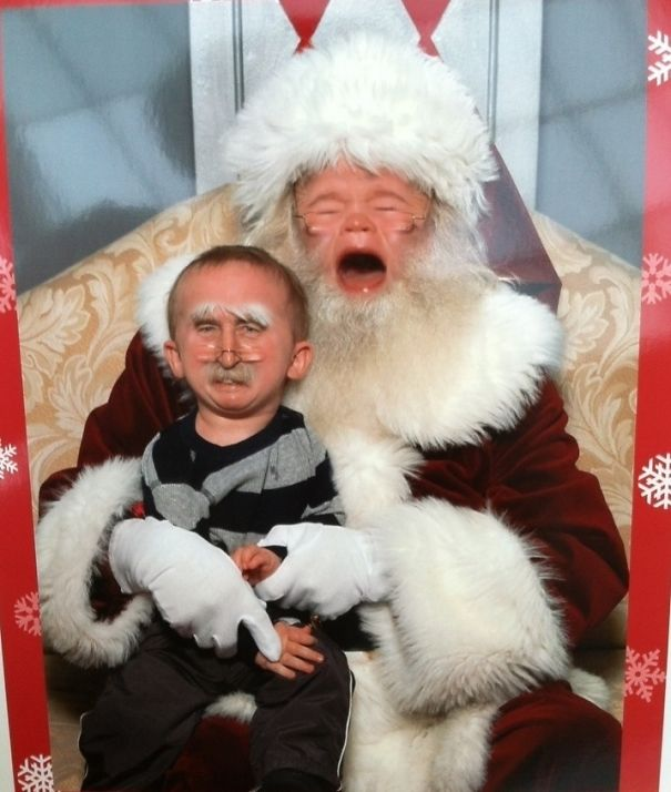 Nephew Visited Santa The Other Day