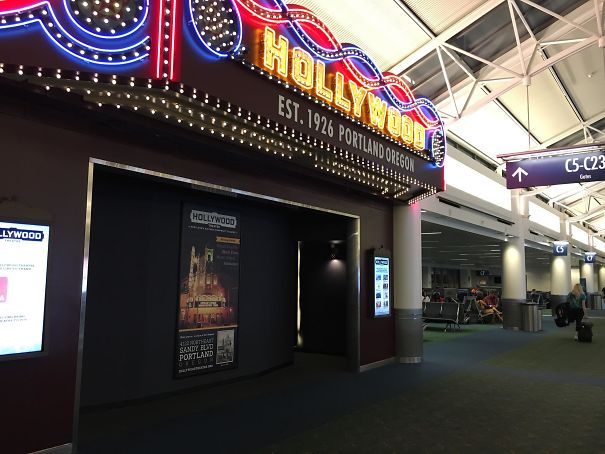 This Airport Has A Movie Theater That Shows Short Films