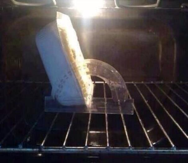 My Wife Asked Me To Put The Dinner In The Oven At 120 Degrees... Took Some Doing, But Managed It