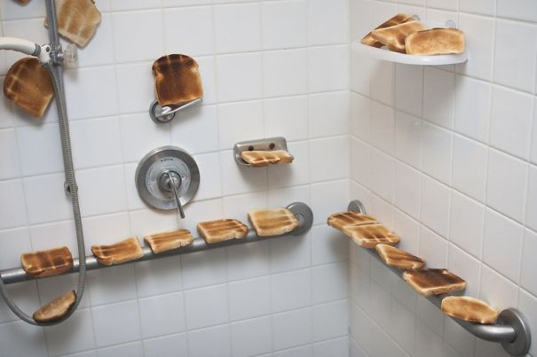 My Wife Just Told Me She Is Pregnant, And Wanted A Toasty Shower. First Dad Joke Executed