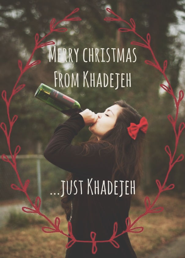My Forever Alone Christmas Card