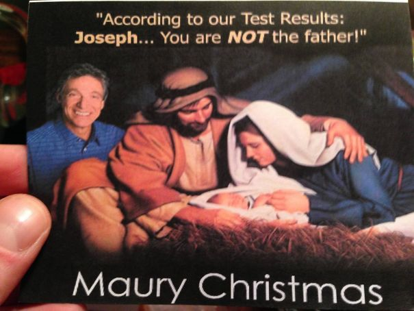 Got This Christmas Card From My Neighbor