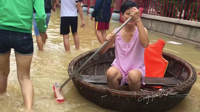 Flooding In Hoi An, Vietnam – Nov 2017