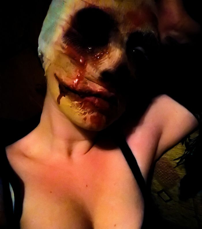 I'm A Beginner At Sfx Makeup, But I'm Still Proud Of How It Turned Out