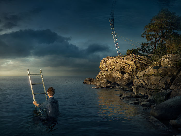 The Newest Masterpiece By Erik Johansson – All Above The Sky
