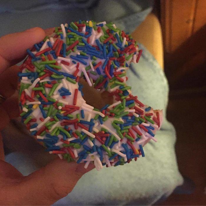 The Doughnut Nibbler Strikes Again!