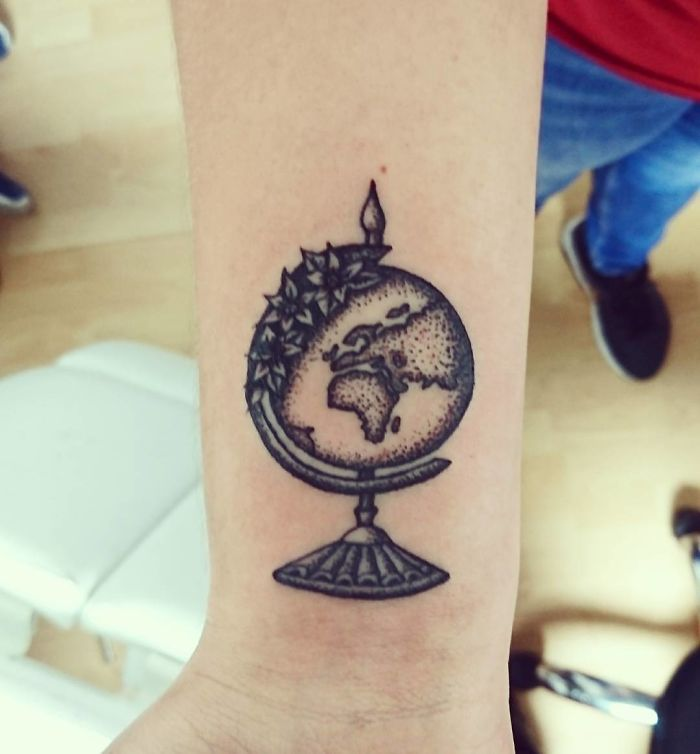 13 Gorgeous Tattoos That Celebrate Travel: 30+ Travel Tattoo Ideas That Will Make You Want To Pack