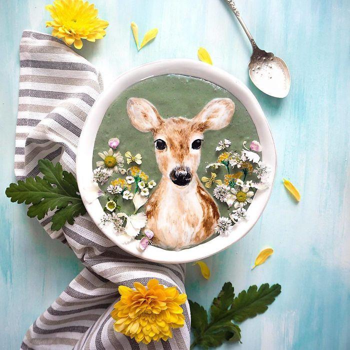 Paintings In Bowls