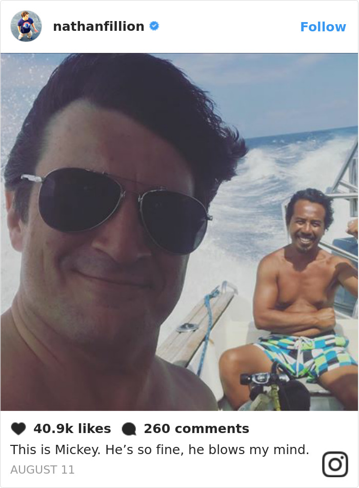 Nathan Fillion Post