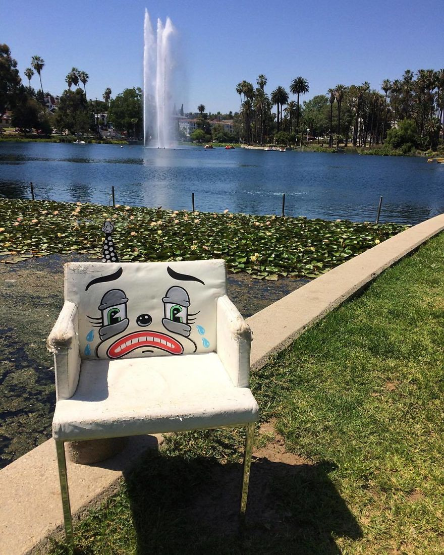 Sad Chair...sits All Alone At The Park...