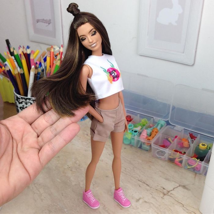 Brazilian Artist Creates Hyper-Realistic Barbie And You Can Have Yours In Any Way You Like