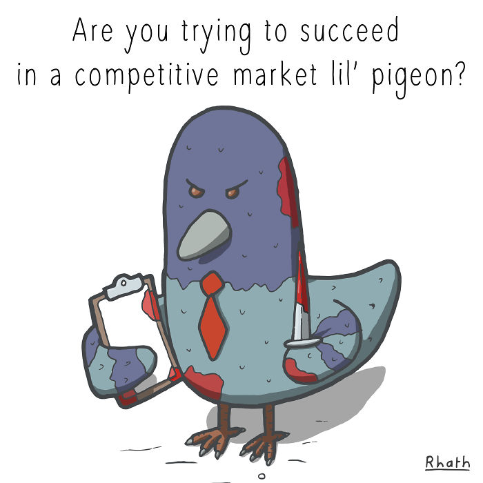 Lil' Pigeons Weigh In On Social Issues