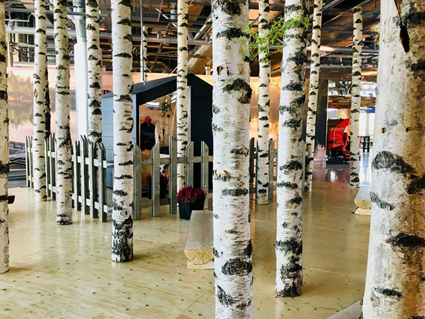 Wait. What? Cottage-Style Landscape At Helsinki Airport?
