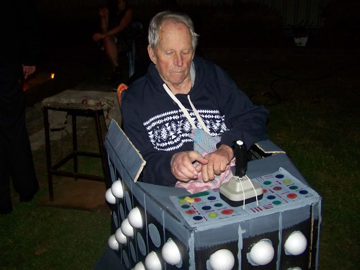 Friends 50th Was Dr Who Theme, Turned Dad Into Davros