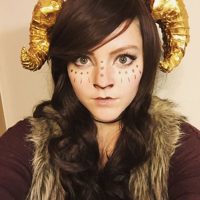I Dressed Up As Aries