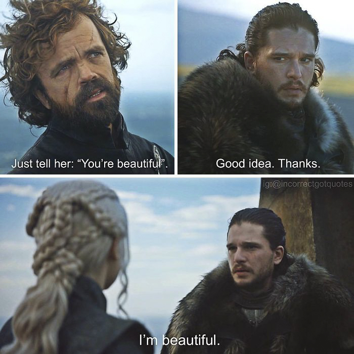 83 Hilariously Incorrect Game Of Thrones Quotes That Made Us Die