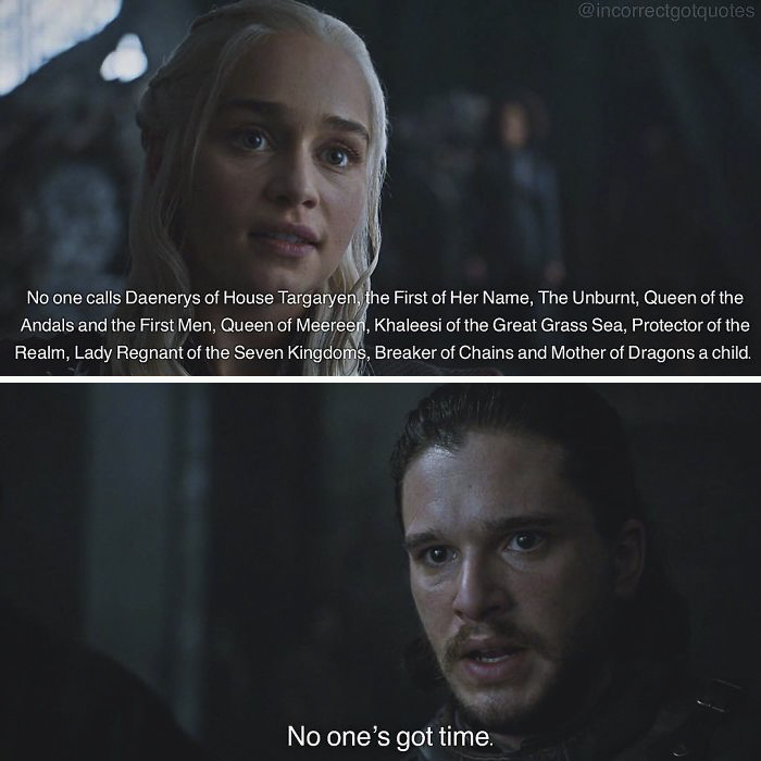 Incorrect Quote
