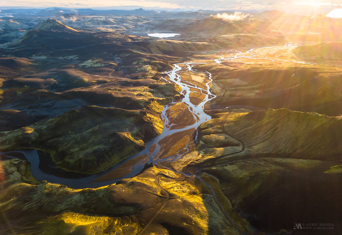 Capturing The Incredible Patterns Of Iceland From A Drone