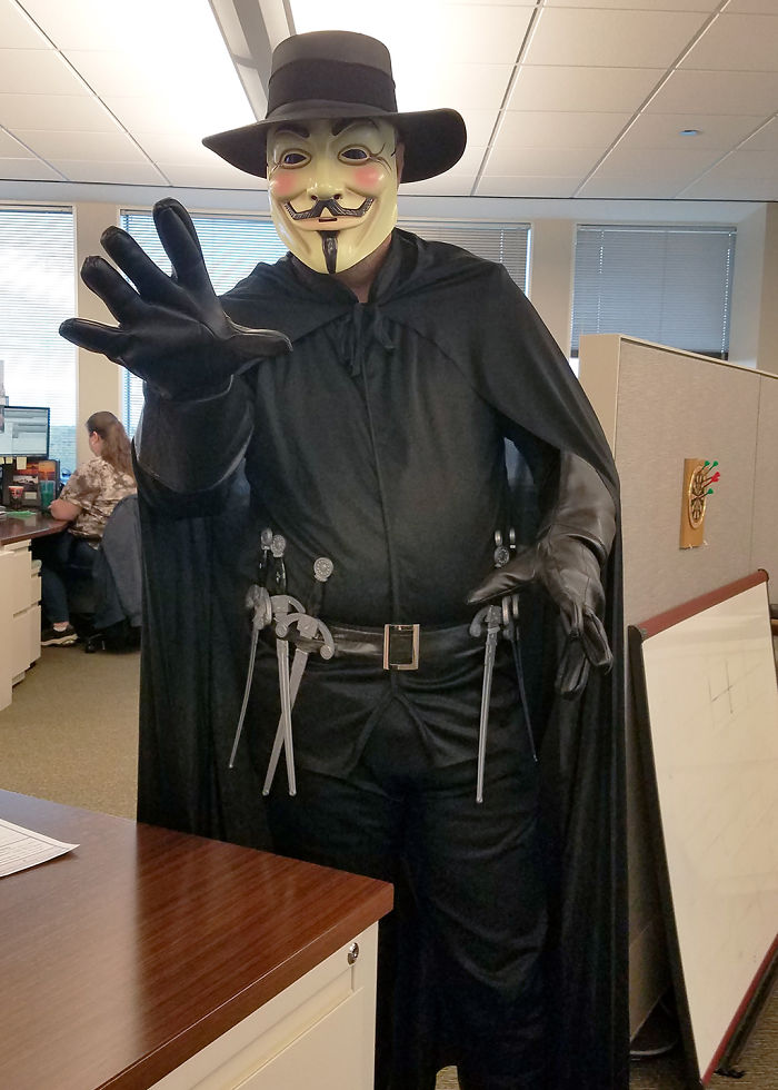 Scared The Hell Out Of People At Work With This One…