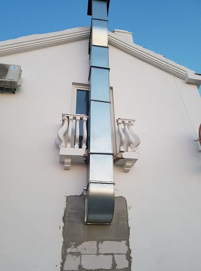 Installed The Ventilation Shaft, Boss
