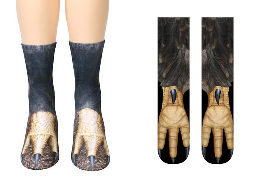 These Hyper-Realistic Socks Will Turn Your Feet Into Beautiful Animal Legs