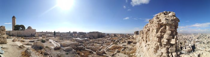 From Inside Aleppo Citadel