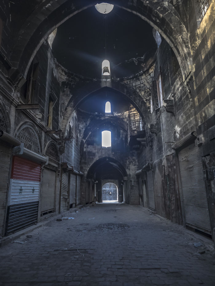 From The Old Souq In Aleppo