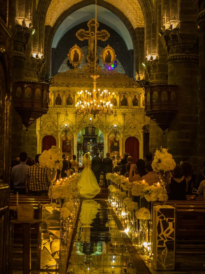 A Christian Wedding In Damascus