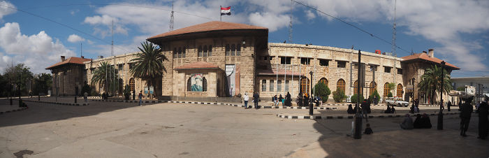 Aleppo Trainstation