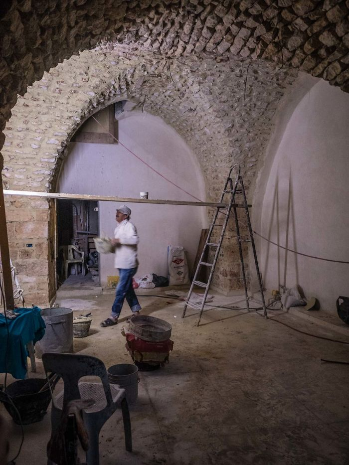 Shops Are Soon Ready To Open In The Old Aleppo Market