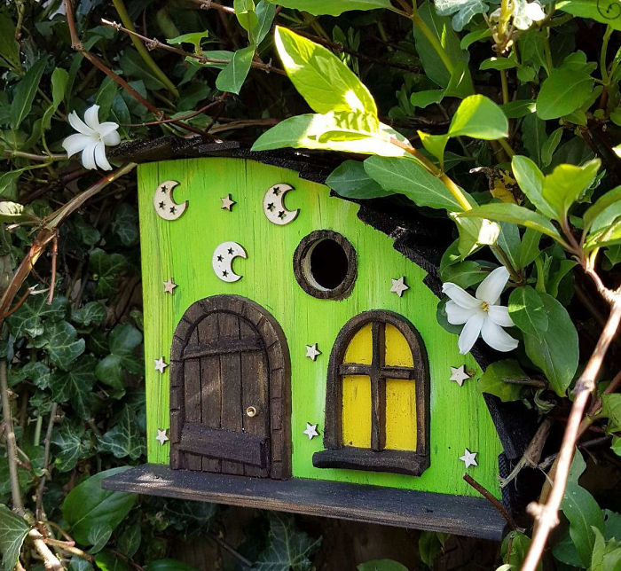 I Build Magical Palaces For The Little Birds In Your Garden.