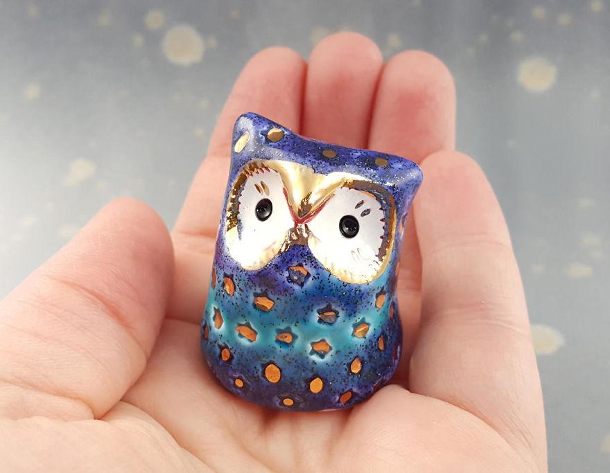 A Sparkly Owl