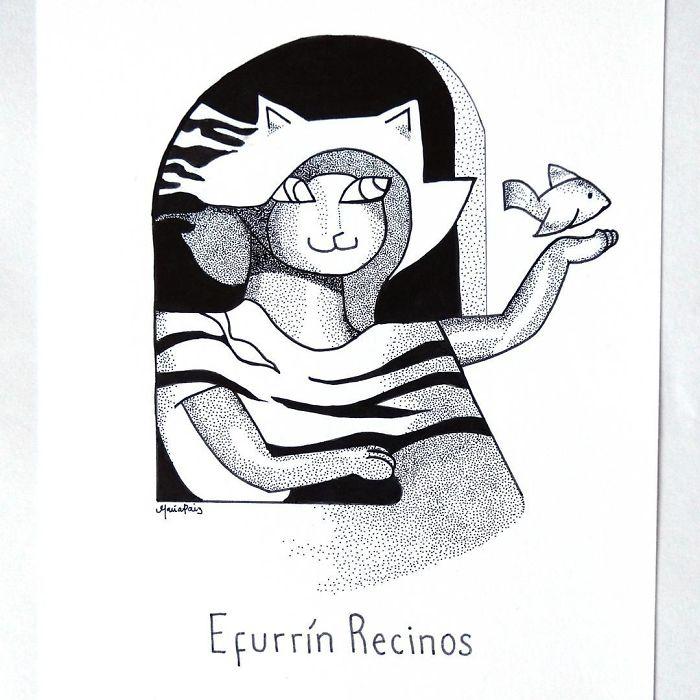 Efurrin Recinos' Miaulita