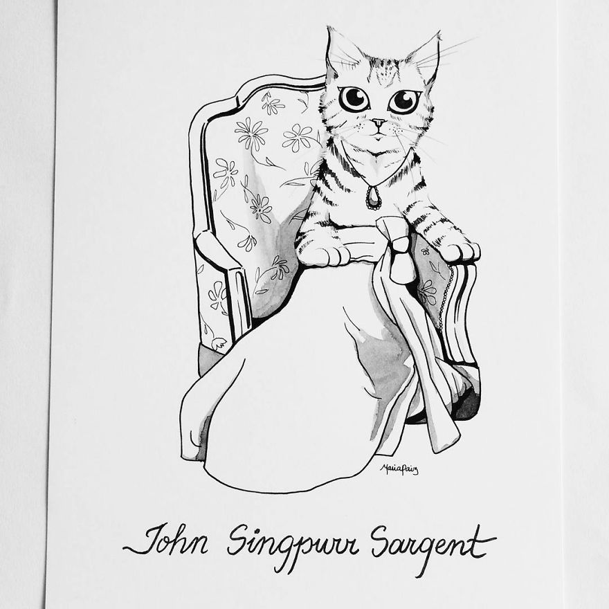 John Singpurr Sargent's Lady Meow Of Lochnaw