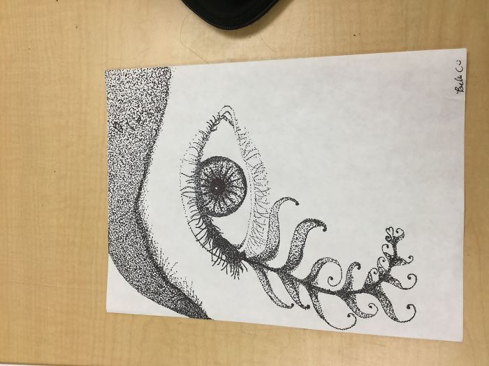 My First Attempt At Pointallism And Other Art Projects