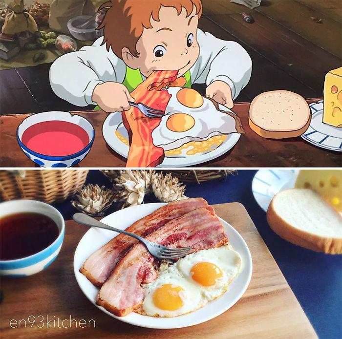 Frühstück aus Howl's Moving Castle
