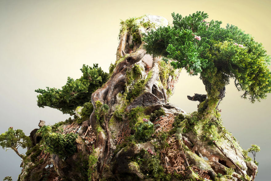 Artist Combines Nature And Technology In His Latest Sculpture Of Modern-Day Protector
